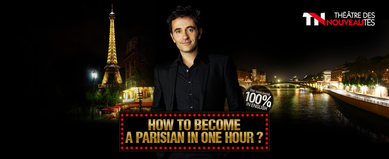 "Olivier Giraud dans ""how to become a parisian in one hour"""